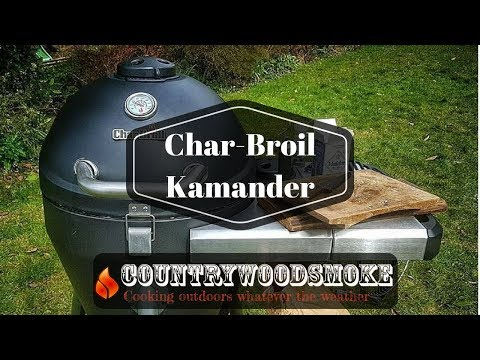 Char-Broil Kamander Charcoal Grill Review