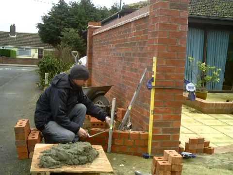 the fine art of brickwork - Radius work, curved on plan 1