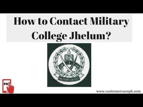 Military College Jhelum Address, Phone Number, Email ID, Website