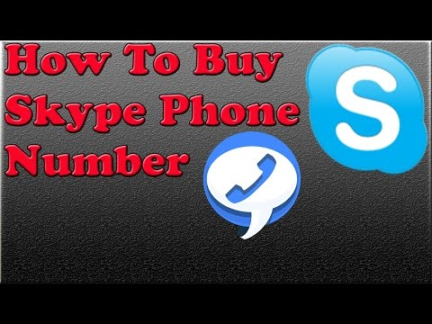 How to Buy Skype Phone Number