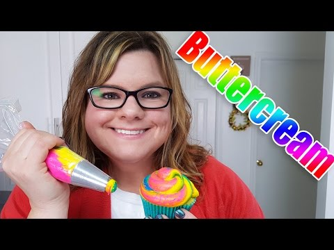 How to make Multicolored Buttercream (Filmed Live)