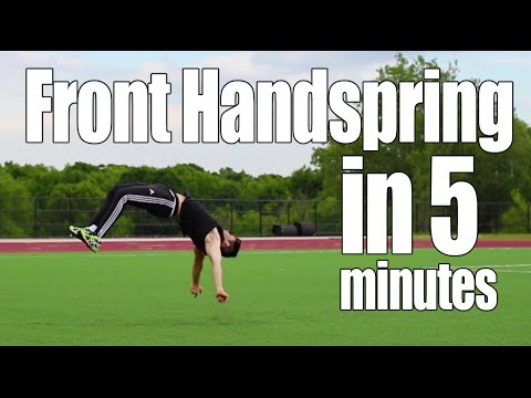 Learn Front Handspring in 5 Minutes | ASAP