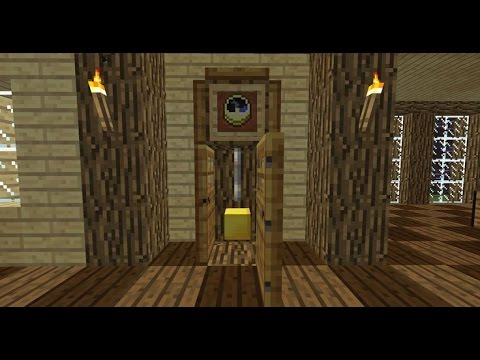 How To Make A Grandfather Clock In Minecraft –Minecraft Grandfather Clock Tutorial – How To Build HD