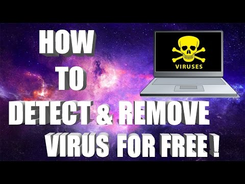How To Detect & Remove Virus From Windows 10 PC/Laptop For FREE ! (2017)