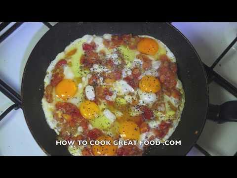 Shakshouka Recipe - Arabic Eggs Shakshuka Chakchouka Video  شكشوكه