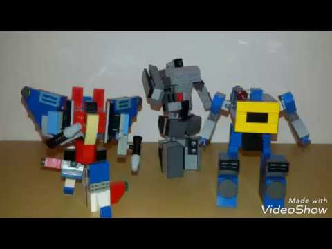 Lego Transformers Shockwave How To Build Instructions Tutorial