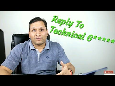 Sharmaji Technical Trolled Technical Guruji Tweet Indirect | Sharmaji Reply Technical Guruji | Tweet