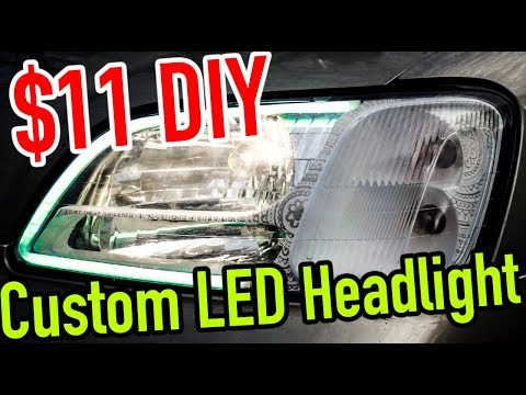 How to LED Tube Retrofitted Headlights