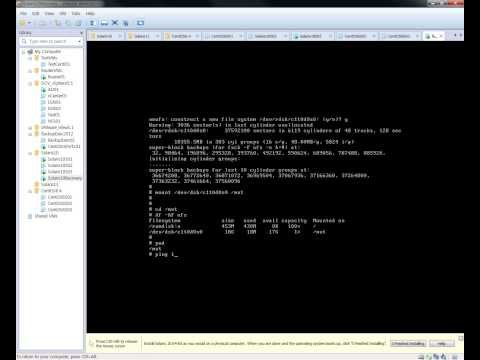 Oracle Solaris 10 x86 - root file system ufsrestore recovery