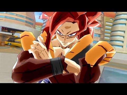 Dragon Ball Z Budokai 3 - HD Collection - Goku (SSJ4 Gogeta) VS Omega Shenron 【HD】