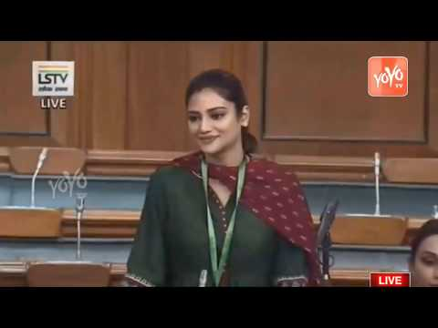 Xxx Mp4 Nusrat Jahan Ruhi Wonderful Speech In 17th Lok Sabha Parliament Live 2019 YOYO TV Kannada 3gp Sex