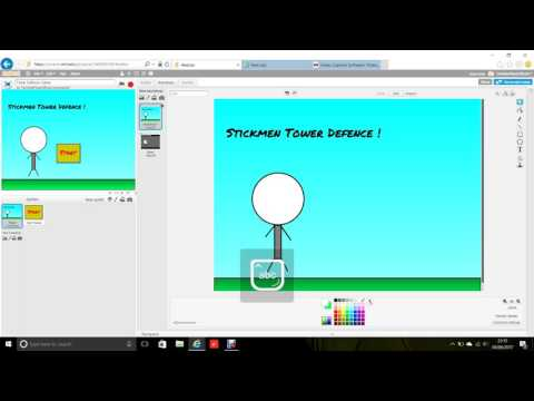 Scratch tutorial tower defence game part 1 !