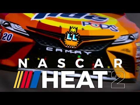 NASCAR Heat 2 PS4 Gameplay