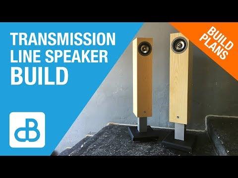 Transmission Line SPEAKER BUILD - by SoundBlab