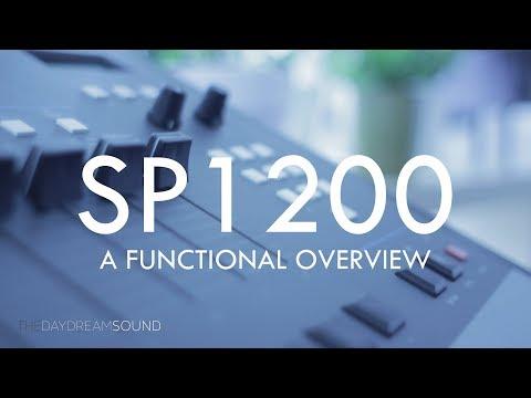 Overview Manual of the E-MU SP1200 Boom Bap Drum Machine Sampler