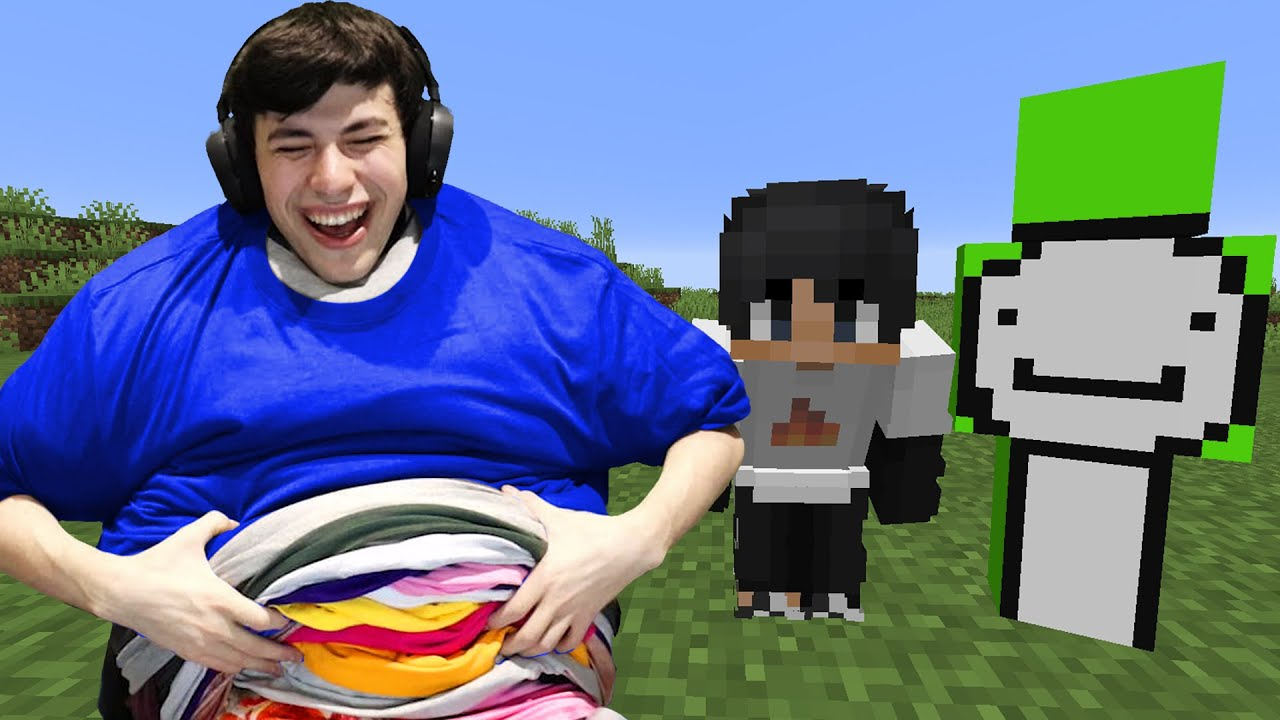 Minecraft, But I Put A T Shirt On Every Minute...
