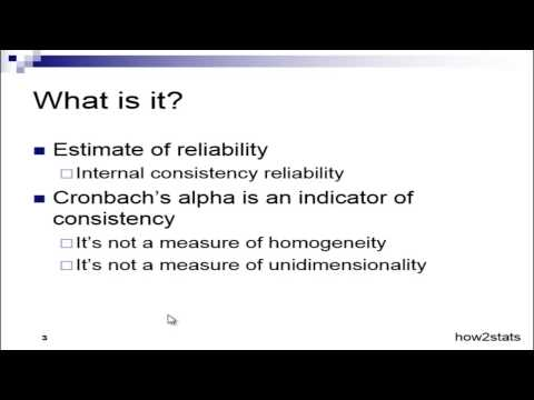 What is Cronbach's Alpha? - Explained Simply