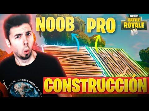 NOOB vs PRO! CONSTRUCCIÓN en FORTNITE: Battle Royale