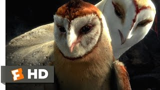 Legend of the Guardians (2010) - Chasing the Bluebird Scene (2/10) | Movieclips