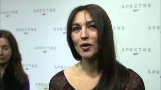 """Spectre: Monica Bellucci """"lucia Sciarra"""" Interview On The New James Bond Movie"""