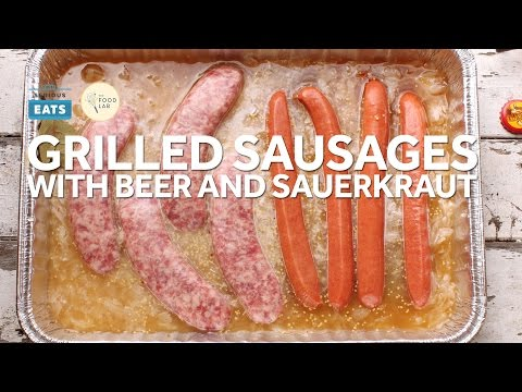 How to Grill Sausages and Hot Dogs