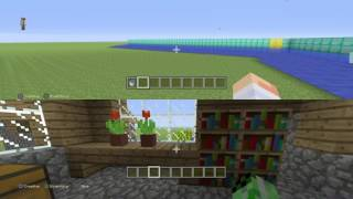 IT'S A TSUNAMI!!| Minecraft pe tutorial: How to spawn a
