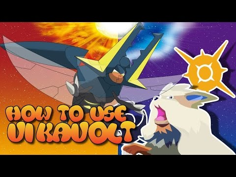 HOW TO USE VIKAVOLT Pokemon Sun and Moon Battle analysis