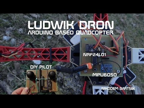 Arduino drone (quadcopter) | ludwik dron
