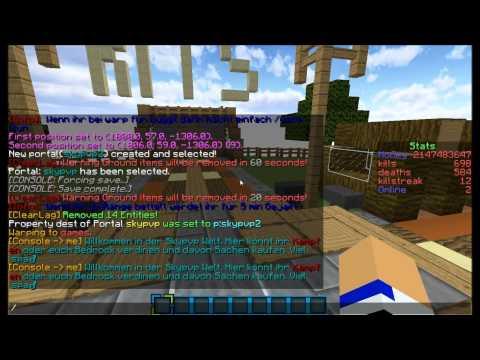Minecraft Multiverse Portals Tutorial [1.7.5-1.7.9]