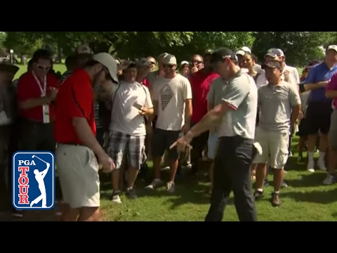 Rory McIlroy's golf ball finds fan's pocket at TOUR Championship