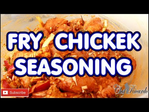 Fried Chicken Seasoning For Mother'S Day This Sunday (Jamaican Chef) | Recipes By Chef Ricardo
