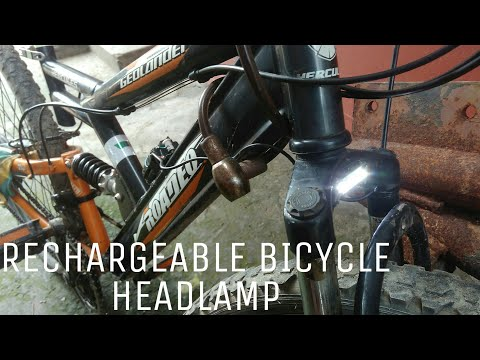How to make Rechargeable Bicycle Headlamp