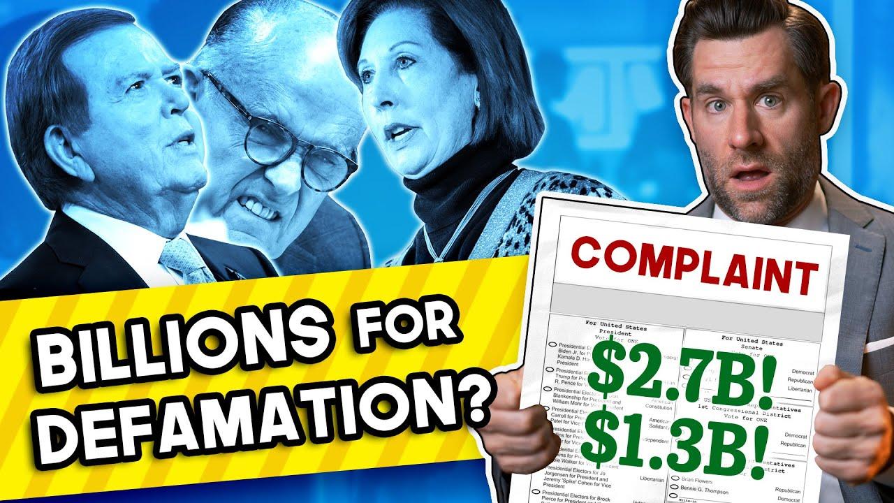Dominion & Smartmatic Sue Fox and Others for Billions