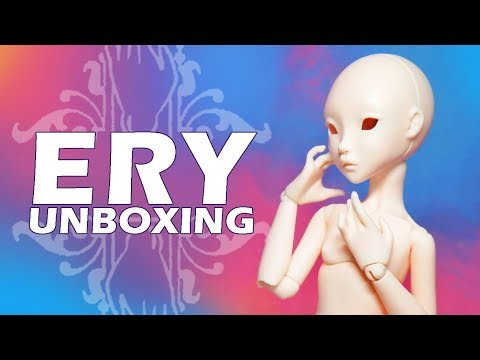 CULUR ERY Ball Jointed Doll Unboxing and Review!