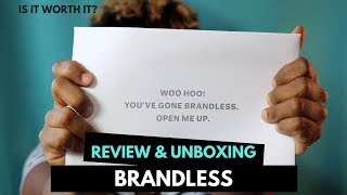 $3 Brandless Is NOT Worth It | First Impressions & Unboxing