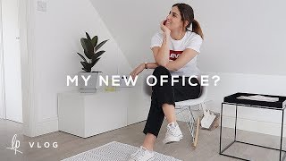 MY NEW OFFICE? | Lily Pebbles Vlog