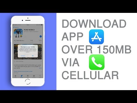 Download App Over 150MB On Appstore Using Cellular