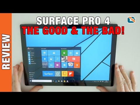 Microsoft Surface Pro 4 Review #SurfacePro4