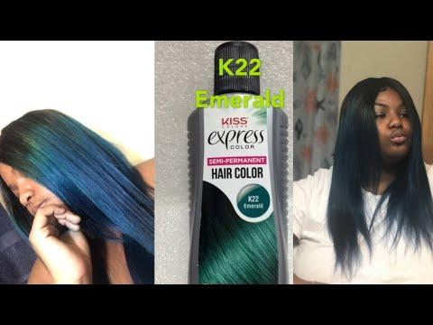 Watch me dye my hair emerald green/FT. HUAREN HAIR