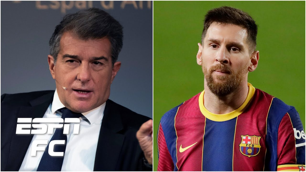 Joan Laporta elected Barcelona president: Will Lionel Messi be convinced to stay?   ESPN FC