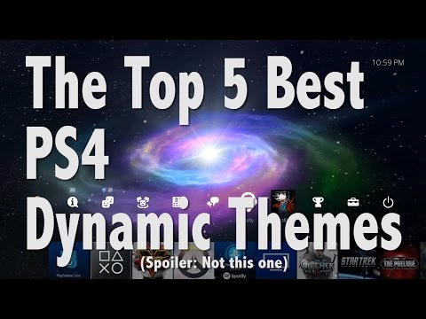 The Top 5 Best PS4 Dynamic Themes
