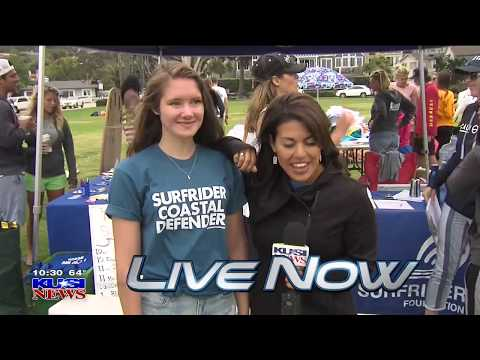 KUSI Good Morning San Diego Features TropicSport Sunscreen Swap Event on International Surfing Day