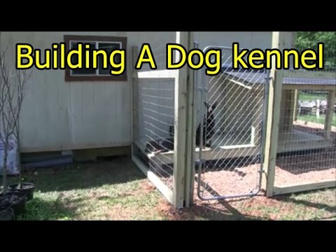 Building a dog kennel