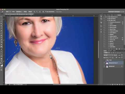 Easiest Way to Remove Double Chin in Photoshop