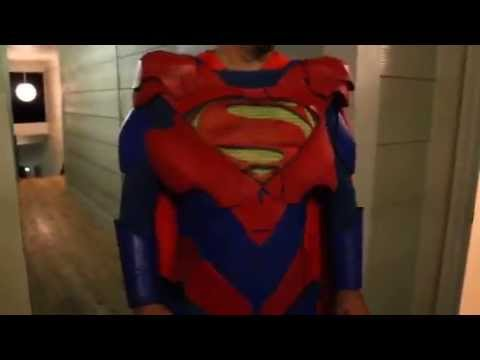 Superman costume cosplay injustice alternate suit