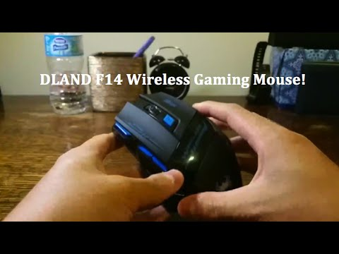 DLAND Zelotes F14 Wireless Gaming Mouse!