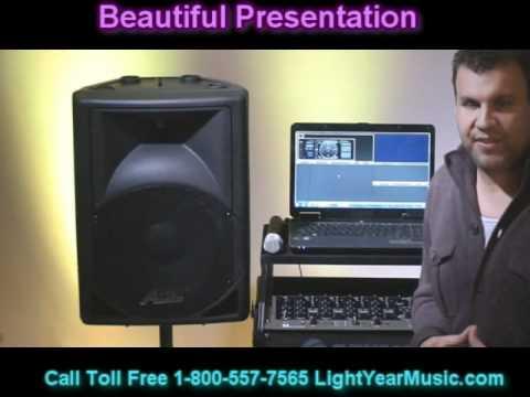 Laptop Karaoke Computer System