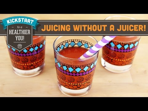 Juicing Without A Juicer! - Mind Over Munch Kickstart Series