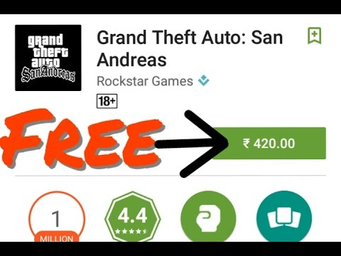 Grand theft auto: San Andreas v1.0.8 Android apk game free download