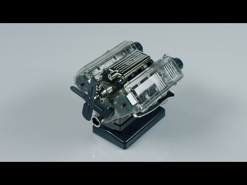 Build Your Own V8 Engine Model Kit